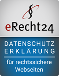eRecht24 - Datenschutz - for legal websites