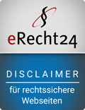 eRecht24 - Disclaimer - for legal websites